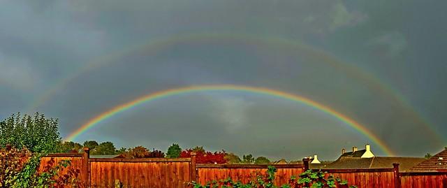 Double Rainbow 16:10 BST 27/09/19