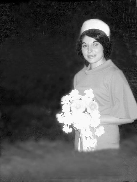 Wedding dress wade, 1966