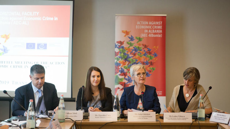 ALBANIA: First Steering Committee meeting of the Action against economic crime in Albania