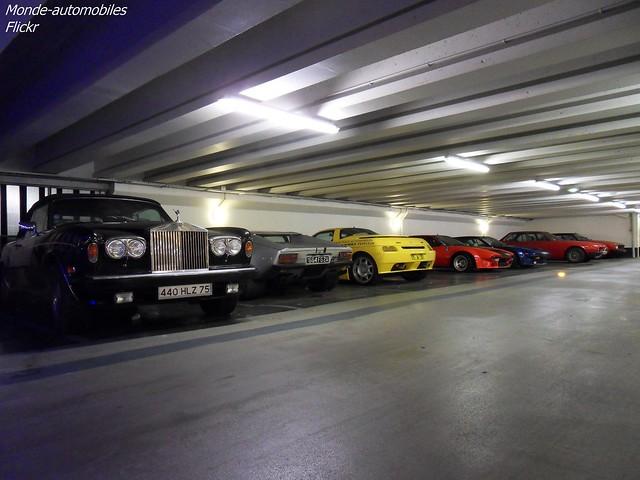 Une belle collection de De Tomaso !