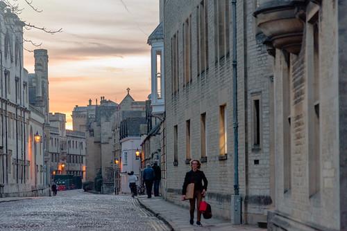 architecture sky twilight oxford oxfordshire streetscapes 英国 牛津 牛津大学