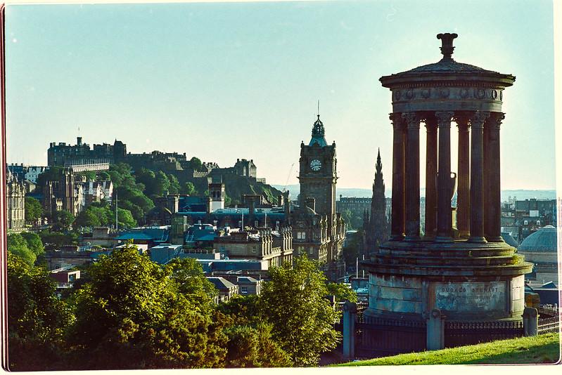 Edimburgo en película