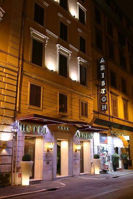 Hotel Ariston, Via Filippo Turati, Rome, February 1st 2017