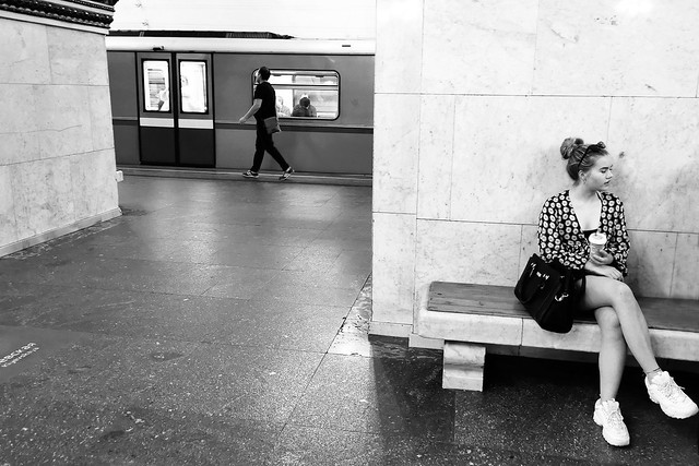 Moscow Metro - Kiyevskaya Station    基輔站 (Киевская)