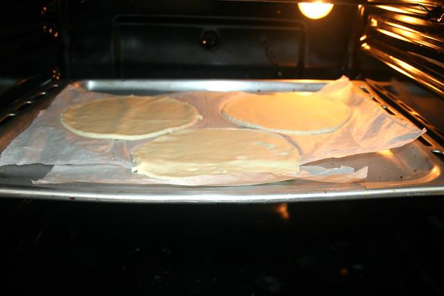 03 - Im Ofen vorbacken / Pre-bake in oven
