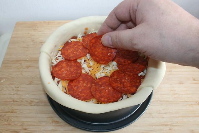 14 - Chorizo hinzufügen / Add chorizo
