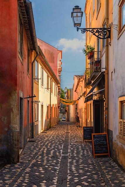 Enge Gassen in Lissabon