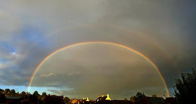 Double Rainbow 18:15 BST 27/09/19