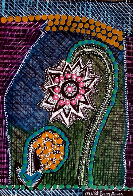 Mujeres pintura moderna desde Israel Mirit Ben-Nun