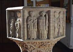 font: St John the Baptist and St John the Evangelist