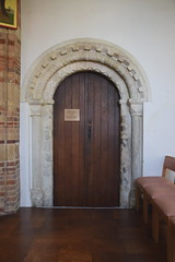 doorway to the cell from St Peter at Thorn