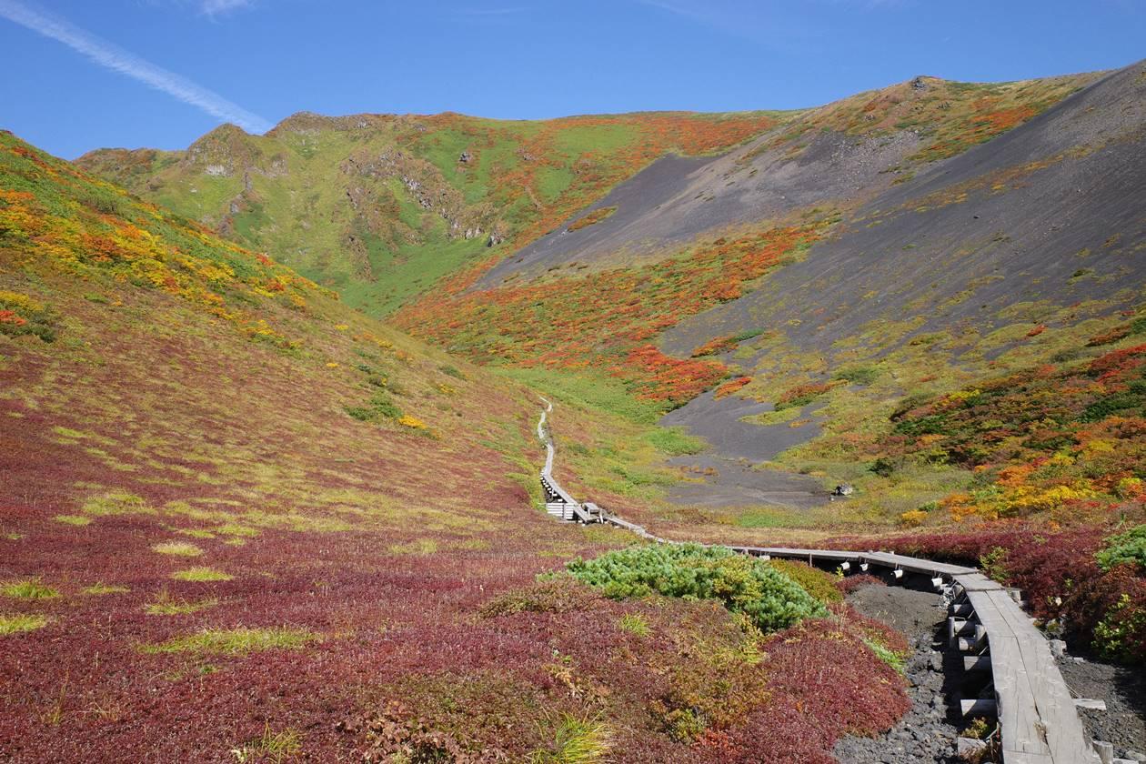 秋田駒ヶ岳・ムーミン谷 紅葉登山