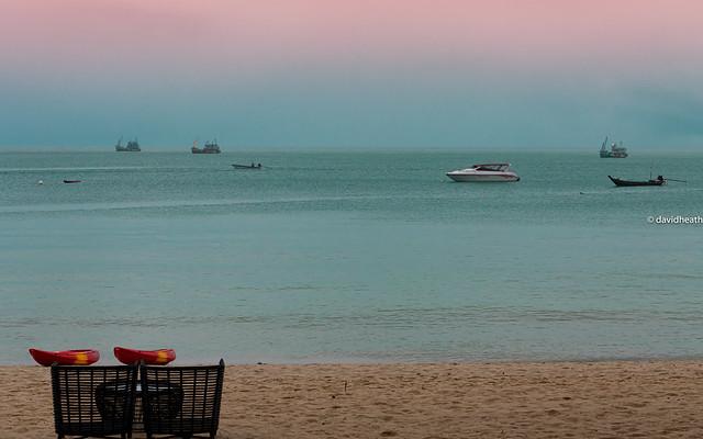 Ko Phangan, Boats