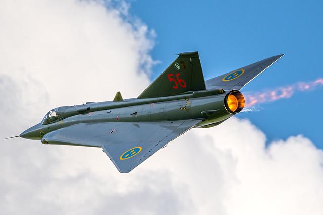 Saab J-35 Draken - Swedish Air Force Historic Flight