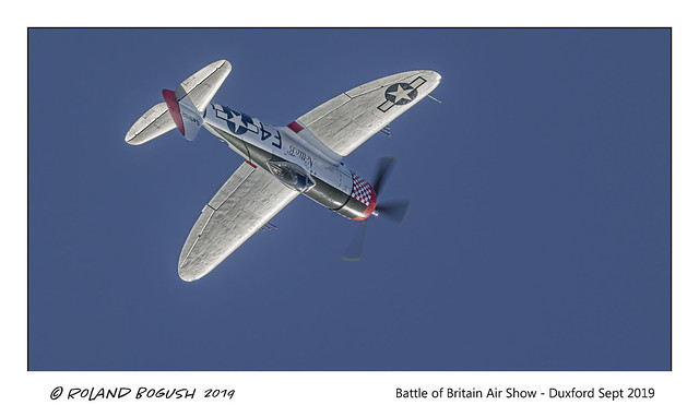 Nellie B goes over the top - P47D Thunderbolt