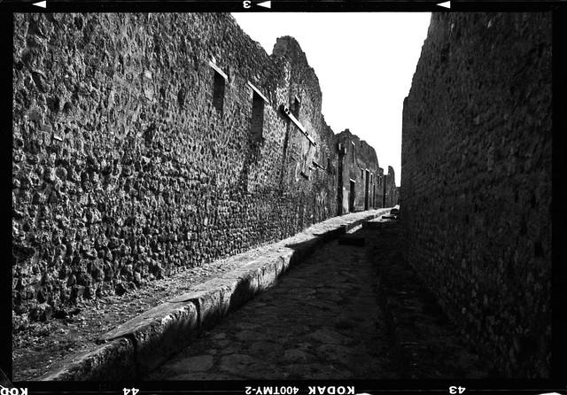 Street at Pompeii (Mamiya Universal)