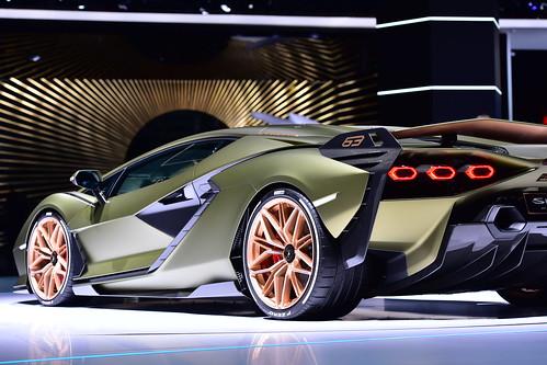 Lamborghini Sián FKP 37, IAA, Frankfurt 2019