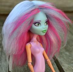 Monster High Custom Acrylic Yarn Doll Wig