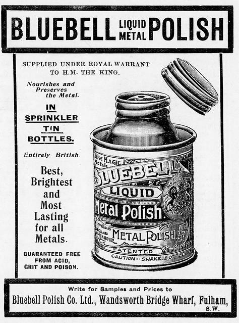 Bluebell Metal Polish 1907