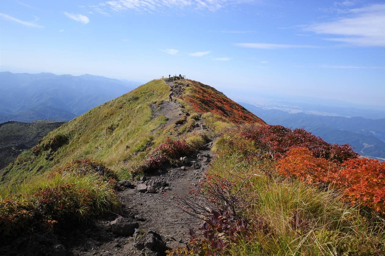秋田駒ヶ岳・男岳山頂