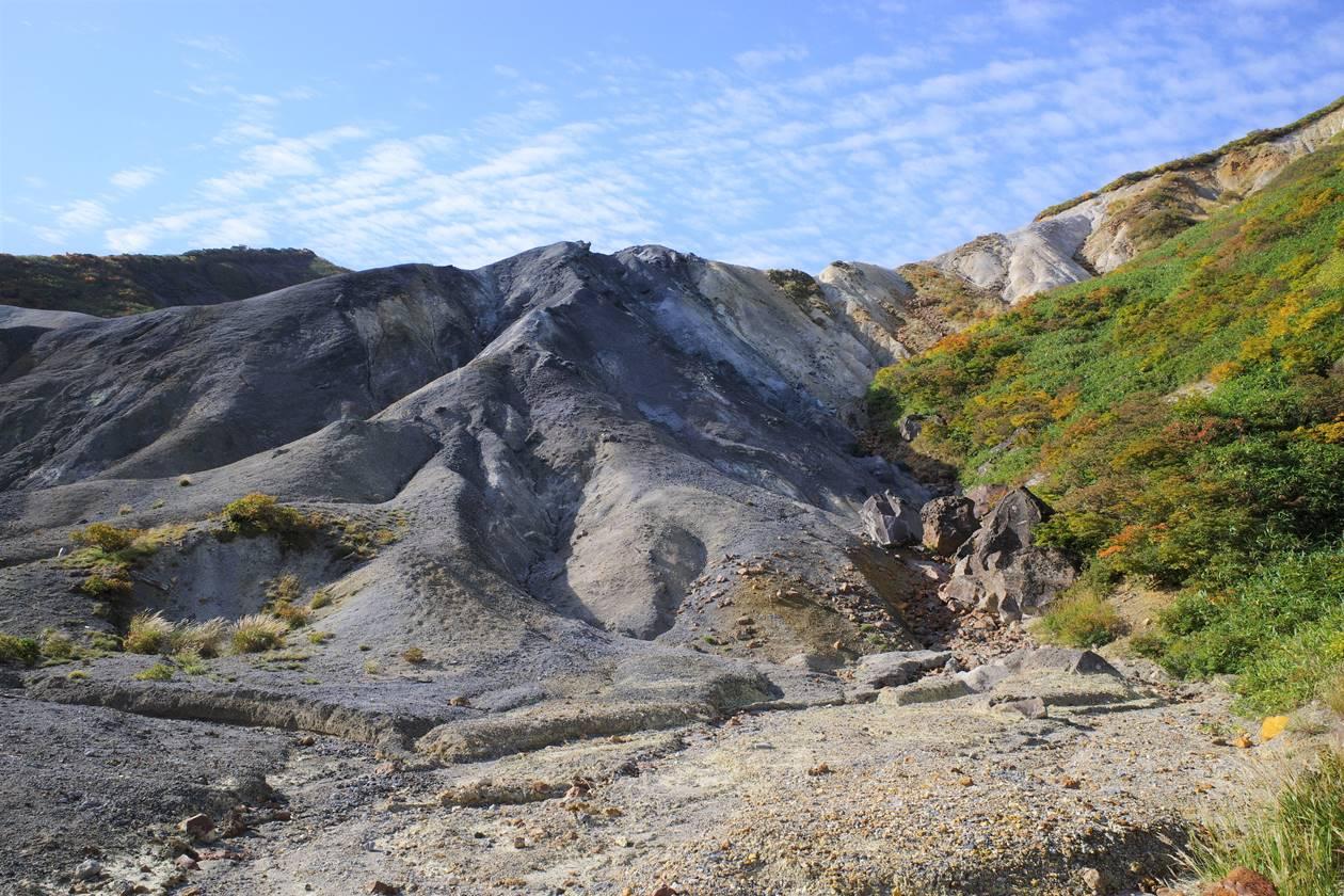 秋田駒ヶ岳の火山風景
