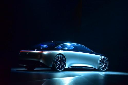Mercedes-Benz Vision EQS, IAA, Frankfurt 2019