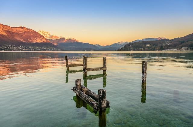 Zénitude au bord du lac
