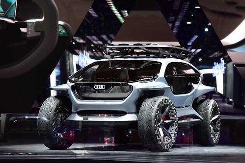 Audi AI:TRAIL, IAA, Frankfurt 2019