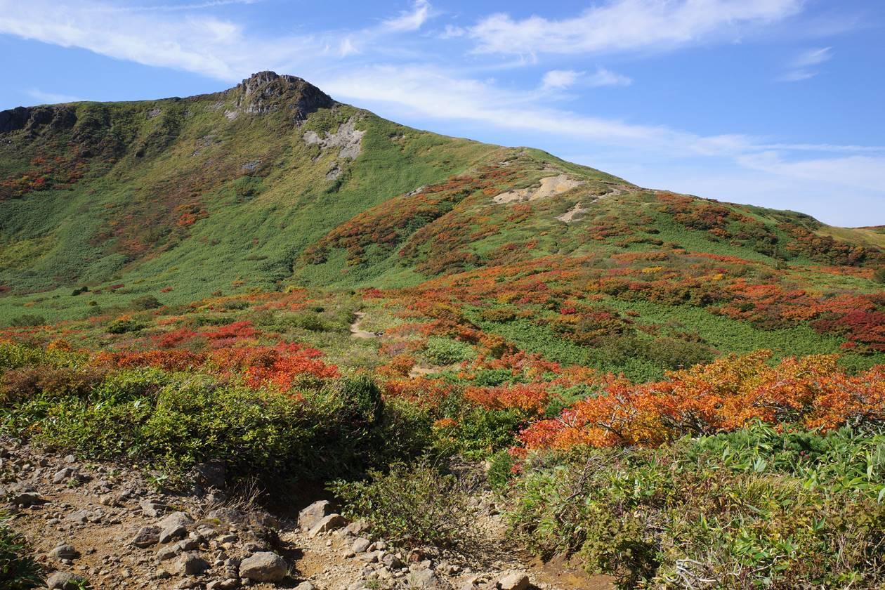 紅葉の乳頭山