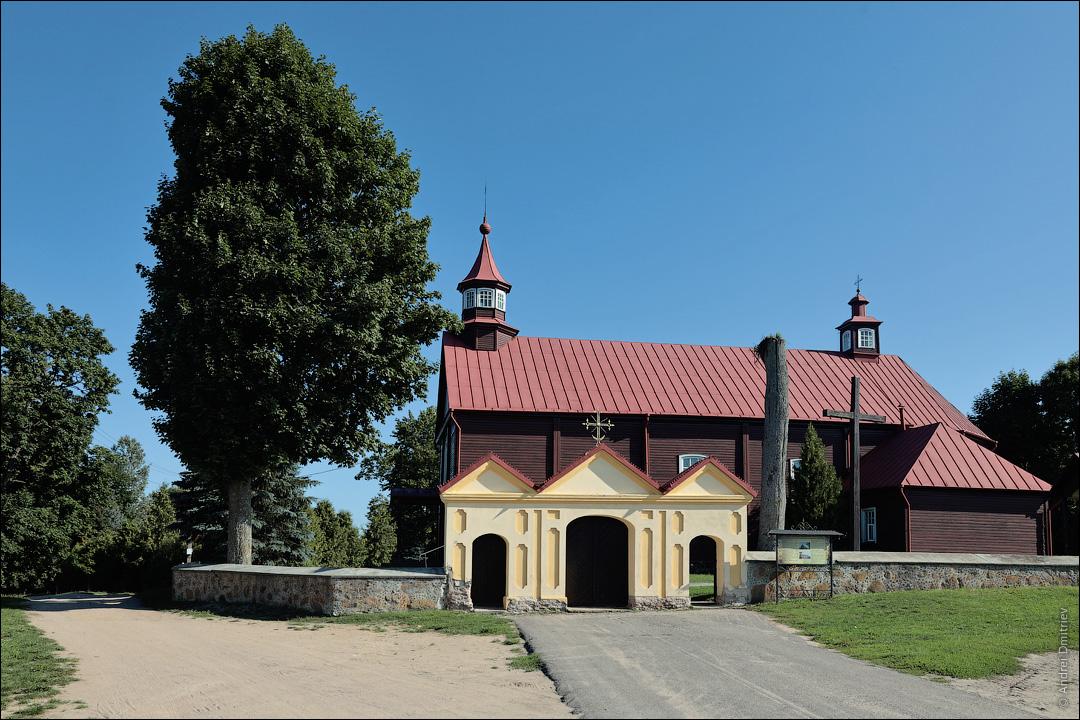 Новый Двор, Беларусь, Костел Вознесения Девы Марии
