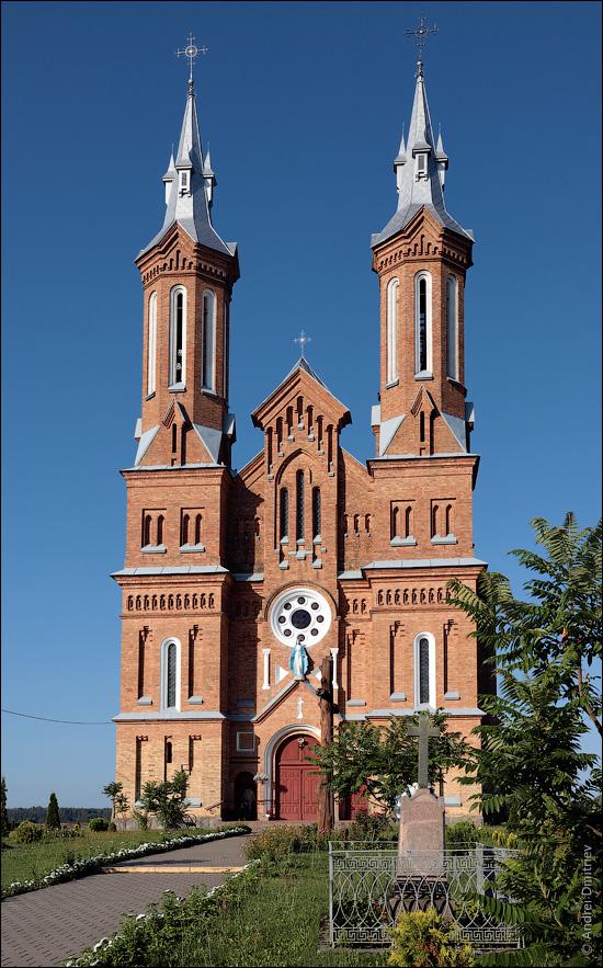 Нача, Беларусь, Костел Вознесения Девы Марии