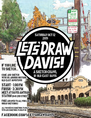 Let's Draw Davis, Oct 12 2019