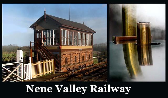 Nene Valley Railway - Signal Box & Brass