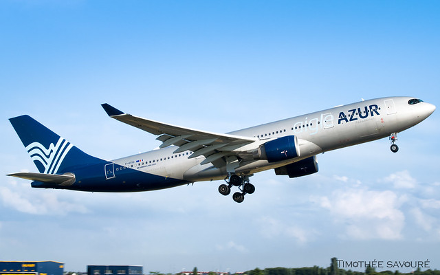 ORY | Aigle Azur Airbus A330-200 | F-HTIC