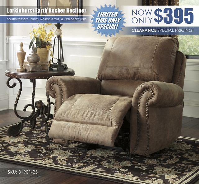 Larkinhurst Recliner Special_31901-25-OPEN