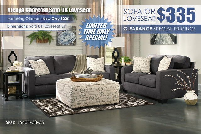 Alenya Charcoal Sofa OR Loveseat Special_16601-38-35-08-T584-R401