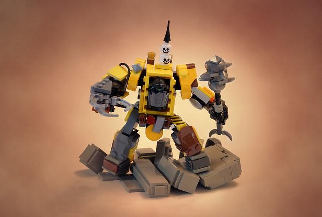 Lego Warhammer 40k Ork Warboss