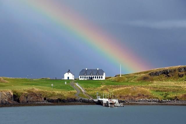 Rainbow Over Videy