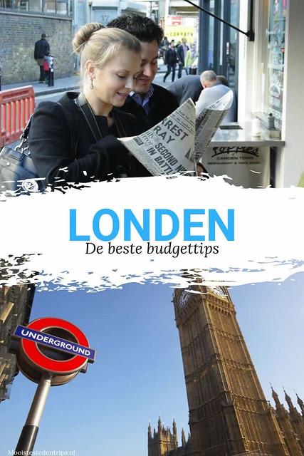 Budgettips Londen: goedkoop en gratis in Londen | Mooistestedentrips.nl