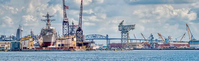 Shipyard panorama