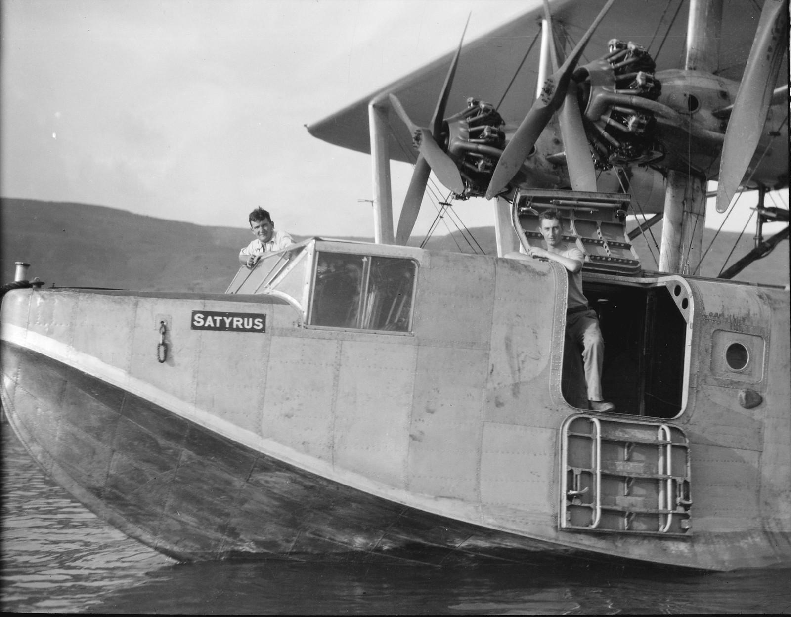 05. Летающая лодка «Сатирус» крупным планом