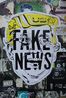 Scott Caris street art, Shoreditch