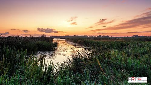 beforesunrise voorzonsopkomst water deonlanden drenthe leekstermeergebied pastel