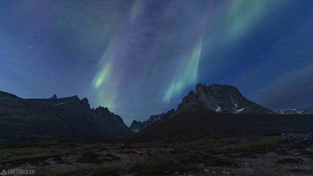 Aurora over Ulamertorsuaq - Tasermiut