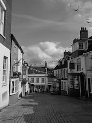 Lymington street black and white
