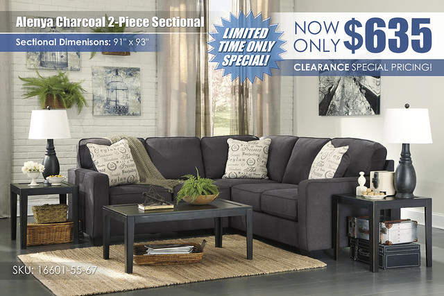 Alenya Charcoal 2 PC Sectional_16601-55-67-T227