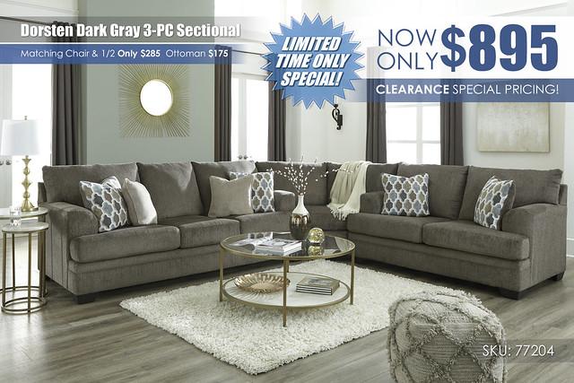 Dorsten Dark Gray 3PC Sectional_77204-38-77-35-T294