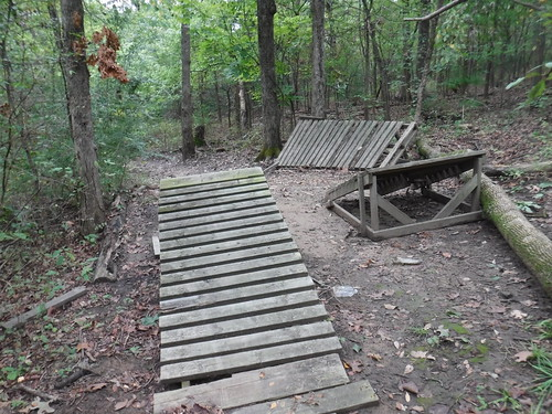 More Abandoned Bicycle Jumps on Turkey Mountain