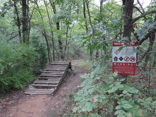 Abandoned Bicycle Jumps on Turkey Mountain
