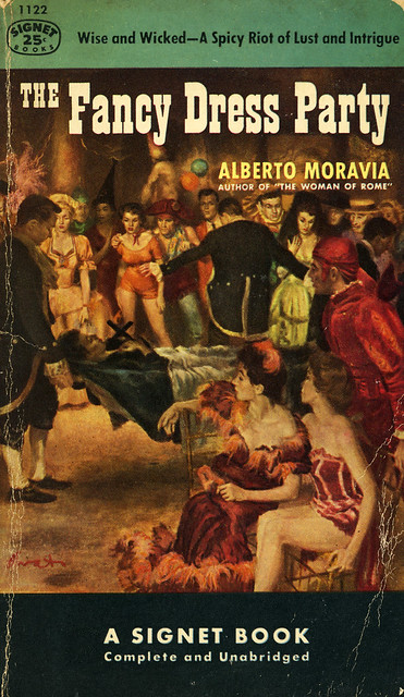 Signet Books 1122 - Alberto Moravia - The Fancy Dress Party